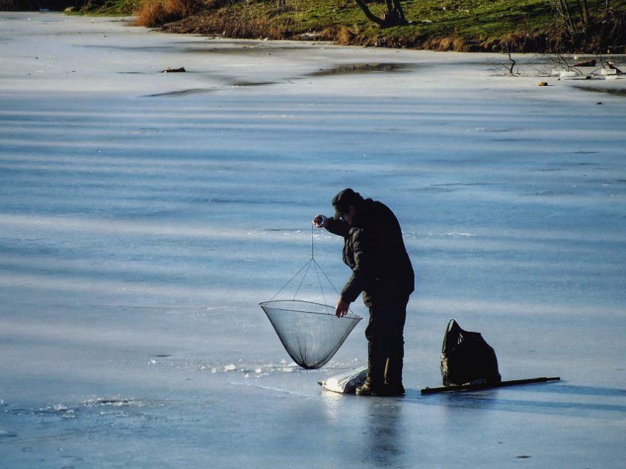 Tid kvar för fiske innan båten ska upp på trailern